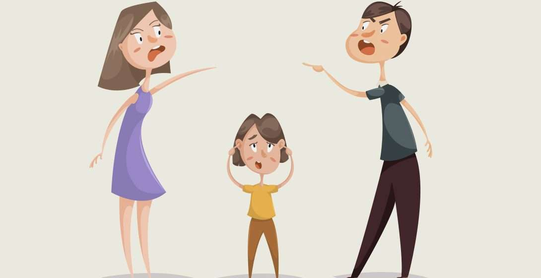 When Your Parents Quarrel, What Do You Do?