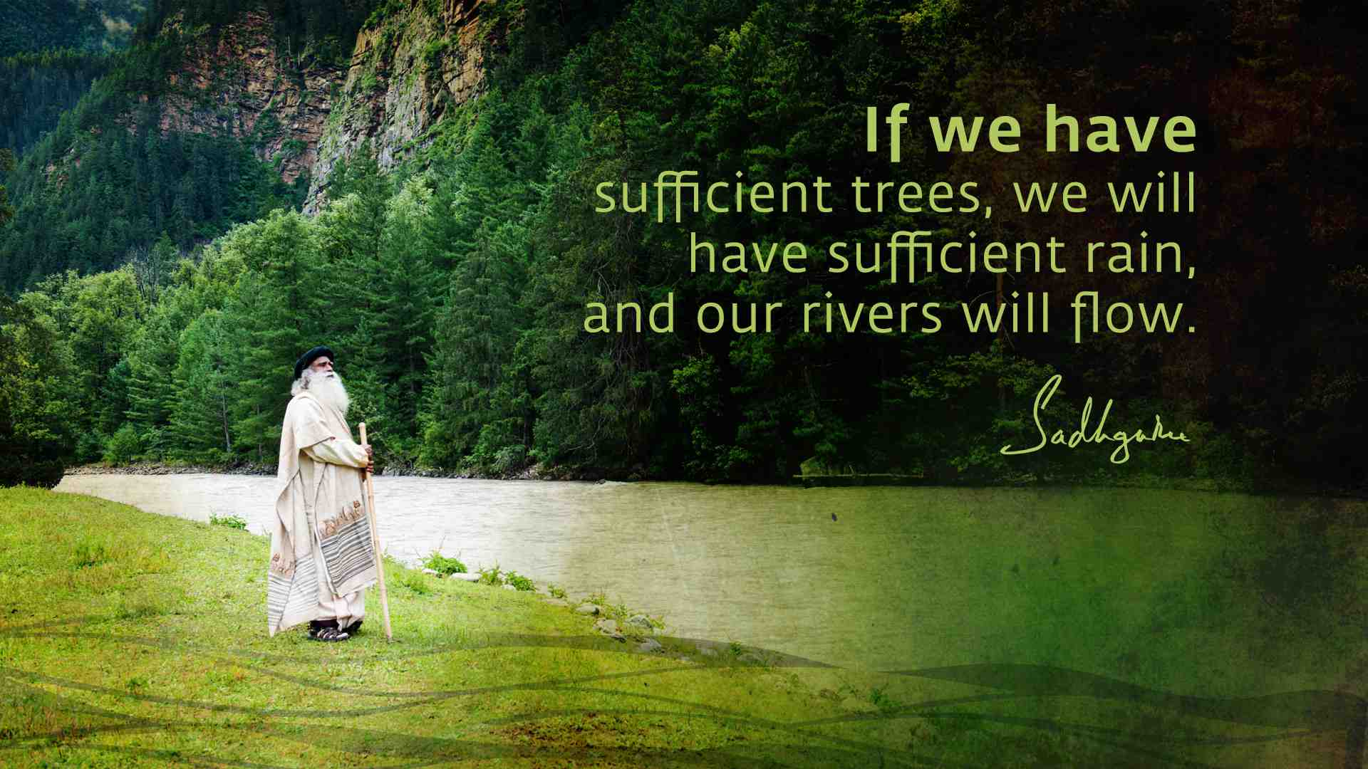 Landscape Quotes Sadhguru's Quotes On Rivers  The Isha Blog