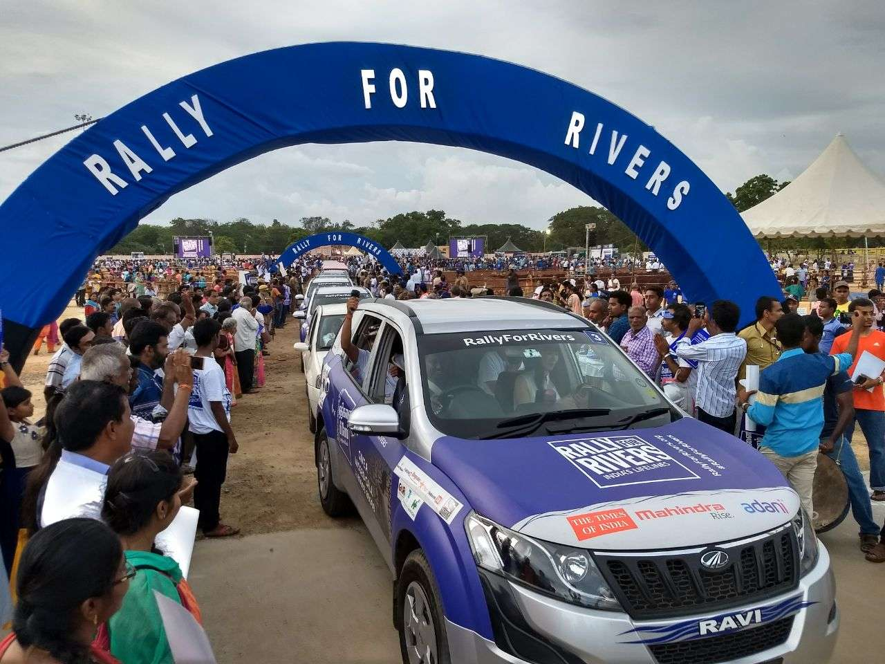 Rally For Rivers – Flag Off 2