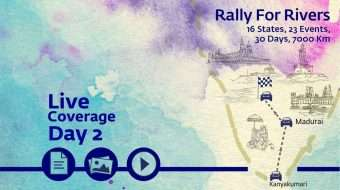 Rally for Rivers Day 2 - Kanyakumari