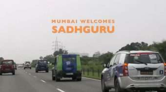Mumbai Welcomes Sadhguru