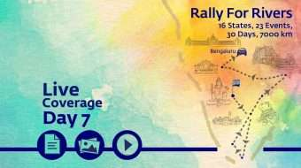Rally for Rivers - Day 7 - Bengaluru