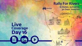 Rally for Rivers - Day 16 - Mumbai