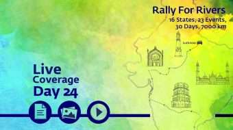 Rally for Rivers - Day 24 - Lucknow