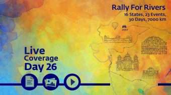 Rally for Rivers - Day 26 - Jaipur