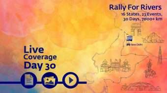 Rally for Rivers - Day 30 - New Delhi