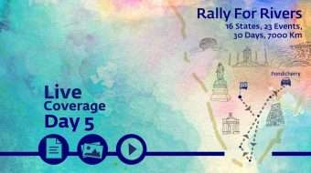 Rally for Rivers - Day 5 - Puducherry