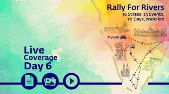 Rally for Rivers - Day 6 - Mysore