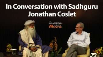 In Conversation with Sadhguru - Jonathan Coslet