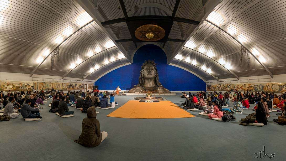 New Year Darshan at the Isha Institute of Inner-Sciences (iii), McMinnville, TN, USA