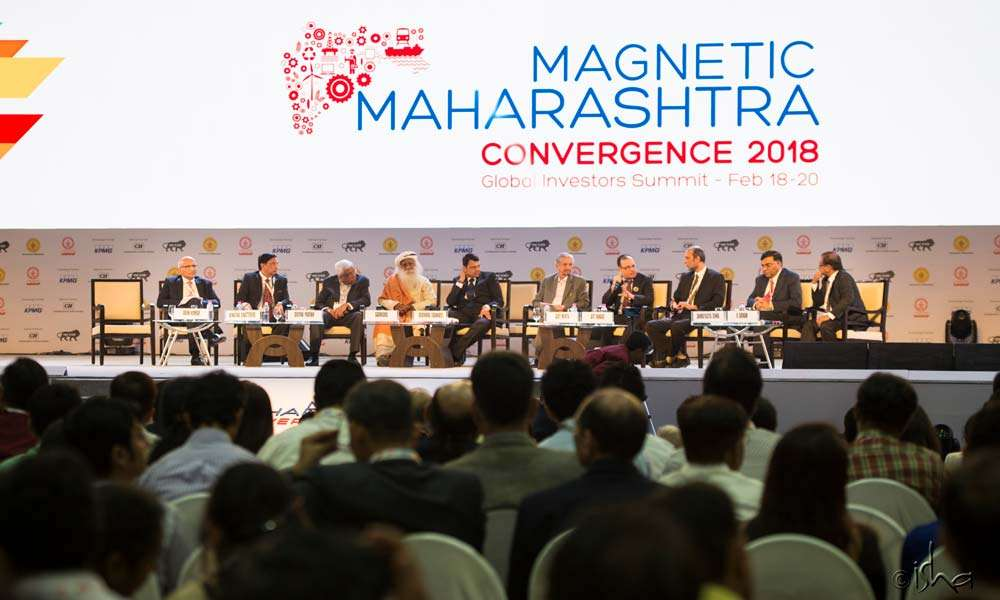 More than 47 global CEOs and 165 Indian CEOs participated in the Magnetic Maharashtra summit