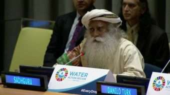 Sadhguru at UN on World Water Day - Water for Sustainable Development