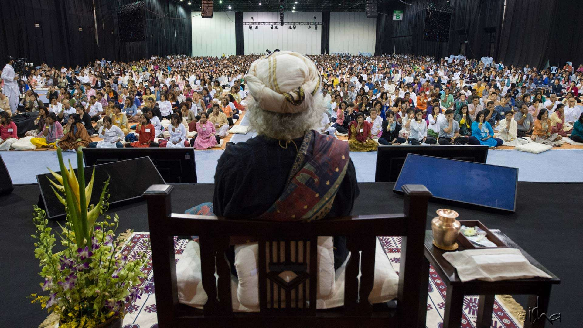 Sadhguru conducted the first Inner Engineering in Malaysia from 14 to 15 April